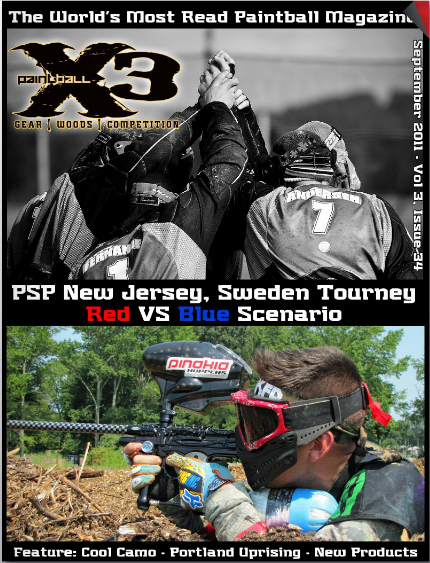 Paintball X3 - Sep.11 - Issue34
